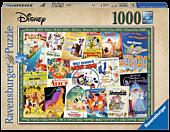 Disney - Vintage Movie Posters 1000 Piece Jigsaw Puzzle
