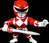 """Red Ranger 4"""" Metals Die-Cast Action Figure"""