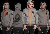 Overwatch - Ultimate Reinhardt Premium Zip-Up Hoodie Main Image