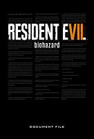 Resident Evil 7: Biohazard - Document File Hardcover Book