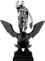 """Captain America - Captain America Resolute Limited Edition 12"""" Pewter Statue 