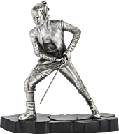 """Star Wars - Rey Limited Edition 7"""" Pewter Statue 
