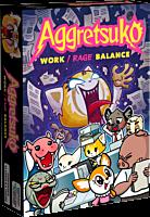 Aggretsuko - Work / Rage Balance Card Game