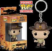 The Walking Dead - Rick Grimes Pocket Pop! Vinyl Keychain