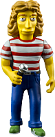 """The Simpsons - 25th Anniversary - Rodger Daltrey 5"""" Action Figure (Series 2)"""