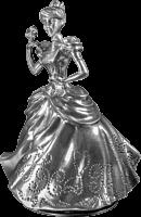 """Disney - Cinderella 4"""" Pewter Music Carousel"""