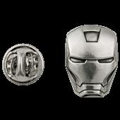 Iron Man - Helmet Pewter Lapel Pin
