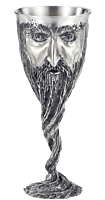 """The Lord of the Rings - Gandalf 8"""" Pewter Goblet"""