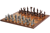 The Lord of the Rings - War of the Ring Pewter Chess Set