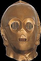 Star Wars - C-3PO Adult Overhead Latex Mask