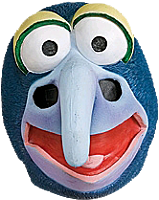 The Muppets - Gonzo Overhead Adult Latex Mask