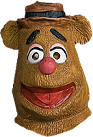 The Muppets - Fozzie Overhead Adult Latex Mask