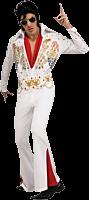 Elvis Presley - Elvis Presley White Jumpsuit Deluxe Adult Costume