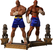 Street Fighter - Sagat Evolution (Set of 2) Exclusive 1/3 Scale Statues