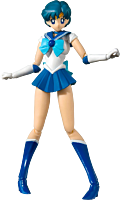 "Sailor Moon - Sailor Mercury Animation Colour S.H.Figuarts 5.5"" Action Figure"
