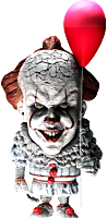 """It (2017) - Pennywise Defo-Real 6"""" Vinyl Statue"""