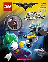 The LEGO Batman Movie - Chaos in Gotham City Activity Book with Minifigure Paperback