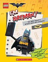 The LEGO Batman Movie - I'm Batman! The Dark Knight's Activity Book with Stickers Paperback