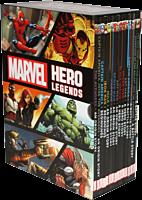 Marvel - Hero Legends Box Set Paperback (Slipcase Set of 15 Volumes)