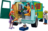 Scooby-Doo - Playmobil Mystery Machine Vehicle with Fred, Daphne and Velma Action Figures (70286)