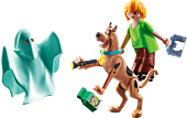 Scooby-Doo - Playmobil Scooby & Shaggy with Ghost Action Figure Set (70287)