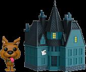 Scooby Doo - Scooby-Doo with Haunted Mansion Funko Pop! Town Vinyl Figure.