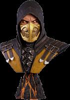 Mortal Kombat X - Scorpion 1:1 Scale Life-Size Bust