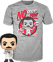 Seinfeld - Yev Kassem (Soup Nazi) Pop! Vinyl Figure & T-Shirt Box Set