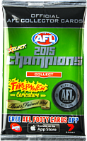 AFL Football - 2015 Select Champions Booster Pack (8 Cards)