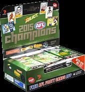 AFL Football - 2015 Select Champions Booster Box (36 Packs)