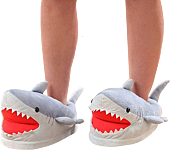 Think Geek - Shark Slippers (One Size Fits Most) 1