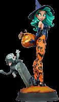 "Happy HallowQueens - Pumpkin Witch 13"" Statue by Chris Sanders"