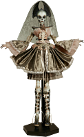 """Court of the Dead - Muse of Bone: Atelier Cryptus 16"""" Doll"""