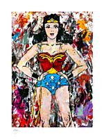 Wonder Woman - Golden Age Wonder Woman Fine Art Print by Megh Knappenberger