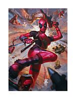 Deadpool - Lady Deadpool Premium Art Print by Alex Pascenko (RS)