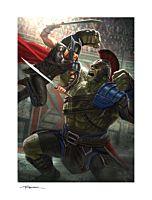 Thor 3: Ragnarok - Thor: Ragnarok Fine Art Print by Andy Park (RS)