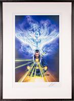 Doctor Strange - Doctor Strange Omnibus Fine Art Print by Alex Ross (Framed Black on White)