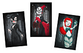 Batman - Gotham Girls Fine Art Print Set by Emma 'Anarkitty' Geary (Set of 3)