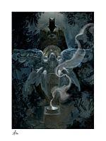 Batman - The Birth of Batman Fine Art Print by Allen Williams