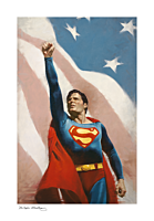 Superman (1978) - Someone to Believe In Fine Art Print by Kristopher Meadows