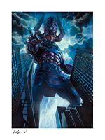 Fantastic Four - Galactus Fine Art Print by Adi Granov