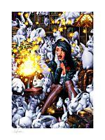 Zatanna - Zatanna Fine Art Print by Jay Anacleto