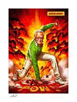 Stan Lee - Excelsior! Fine Art Print by Ian MacDonald
