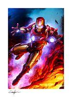 Iron Man - Iron Man Fine Art Print by Jeehyung Lee