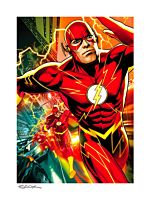 The Flash - The Flash Fine Art Print by Ryan Sook
