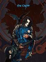 The Crow - The Crow: Real Love is Forever Variant Fine Art Print by Kevin Tong