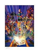 Marvel - Marvel Comics #1000 Fine Art Print by Alex Ross