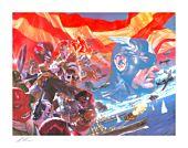 Captain America - Captain America: Winter in America Fine Art Print by Alex Ross