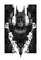 Batman - Batman Fine Art Print by Nekro