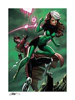 X-Men - Uncanny X-Men: Rogue & Gambit Fine Art Print by J. Scott Campbell &Sabine Rich